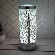 Silver Aroma Lamp Colour Led (LP46137)