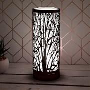 Black Aroma Lamp Colour Led (LP46142)