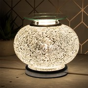 Desire Aroma Lamp Silver Mosaic (LP46409)