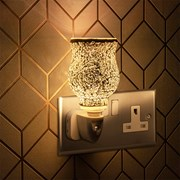 Plug In Warmer Mosaic Silver (LP46477)