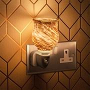 Plug In Warmer Black & Gold (LP46484)