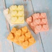 Wax Melts Hearts 6 Asstd (LP46511)