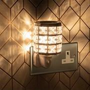 Plug In Warmer Crystal Silver (LP46543)