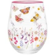 Butterfly Garden Stemless Gin Glass (LP46734)