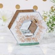 Mirror Honeycomb T/light Holder (LP46770)