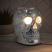 Desire Aroma Skull Lamp Silver (LP46814)