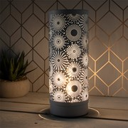Desire Sparkle Lamp Grey (LP47083)