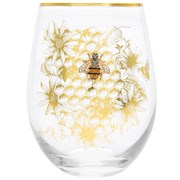 Honeycomb Bee Stemless Glass (LP47177)