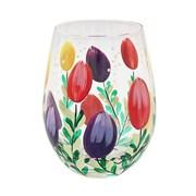 Tulips Stemless Glass (LP47360)