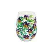 Pansies Stemless Glass (LP47375)