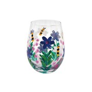 Bees & Wildflowers Stemless Glass (LP47379)