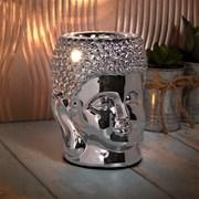 Desire Aroma Silver Buddha Lamp (LP47415)