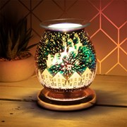 3d Gold Deer Aroma Lamp (LP51887)