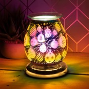 3d Gold Bauble Aroma Lamp (LP51888)