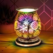 3d Gold Snowflake Aroma Lamp (LP51889)
