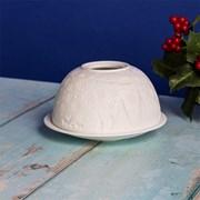 Tea Light Holder Santa (LP52342)