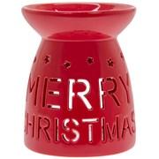 Merry Xmas Wax-oil Warmer Red (LP52412)