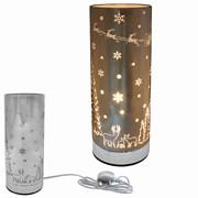 Xmas Metal Touch Aroma Lamp (LP52449)