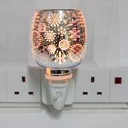 Snowflake Plug In Wax Burner 3d (LP52498)