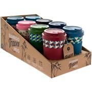 Bamboo Travel Mugs Gents 4 Asstd (LP87012)