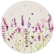 Lavender Bamboo Plate (LP87044)