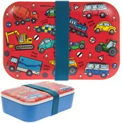 Bamboo Vehicles Lunch Box (LP87073)