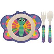 Bamboo Butterfly Eating Set (LP87079)