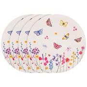 Butterfly Garden Bamboo Plates 4s (LP87096)