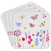 Butterfly Garden Coasters Set 4s (LP94474)
