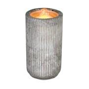 Concrete Water Candle 11x20cm (LT195004)