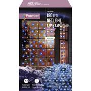 Premier 180 Led M/a Led Net Lights 1.75x1.2m Blue White (LV122741BW)