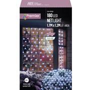 Premier 180 Led M/a Led Net Lights 1.75x1.2m White (LV122741W)