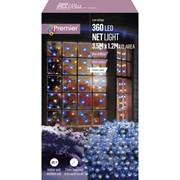 Premier 360 Led M/a Led Net Lights 3.5x1.2m Blue-white (LV122742BW)