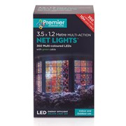 Premier 360 Led M/a Led Net Lights 3.5x1.2m Multi (LV122742M)