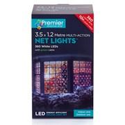 Premier 360 Led M/a Led Net Lights 3.5x1.2m  White (LV122742W)