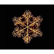 Gold Starburst Snowflake 60cm (LV183193G)