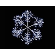 Silver Starburst Snowflake 1.2mt (LV191435S)