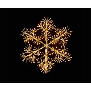 Gold Starburst Snowflake 90cm (LV183194G)