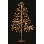 Premier Warm White Twinkle Starburst Tree 90cm (LV191052G)