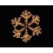 Gold Starburst Snowflake 1.2mt (LV191435G)