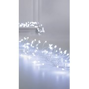 Premier Dec 288 M/a Silver Ultrabright Garland W/timer White (LV192172W)
