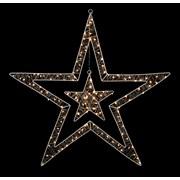 Premier 80cm White Led Lights Double Star 1.2 (LV201155)
