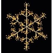 Premier Microbright Snowflake Warm White Led 40cm (LV213043WW)