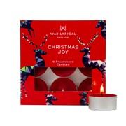 Wax Lyrical Tealights Box/9 Christmas Joy (WLE3015)