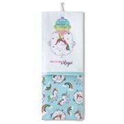 Cooksmart Magic Unicorn Tea Towel 2pk (1435)