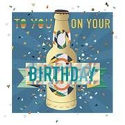 Birthday Beer Card (MEE30008)