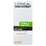 Loreal Men Expert Pure & Matt Moisturiser Gel 50ml (298870)