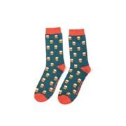 Mr Heron Beer Socks Teal (MH185TEAL)