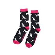 Mr Heron Labrador Socks Black (MH173BLACK)