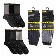 Mens 3pk Work Socks (SK050)